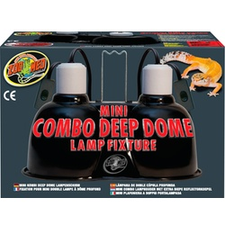 Zoo Med Combo Deep Dome Fixture
