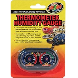 Zoo Med Dual Thermometer-Humidity Gauge